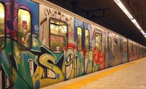 Rome subway... Eeeh, I like!