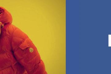 Drake en Facebook logo