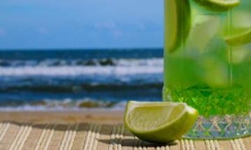 Gin & Tonic op het strand