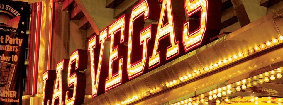 Las Vegas in lampen